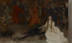 """The Play Scene in """"Hamlet"""" compositionstudy"""