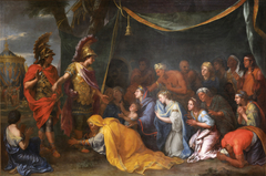 The Queens of Persia at the feet of Alexander, also called The Tent of Darius