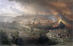The Siege and Destruction of Jerusalem by the Romans Under the Command of Titus, A.D. 70