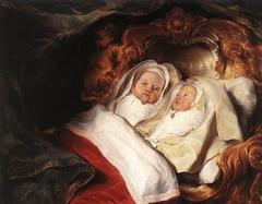 The Twins Clara and Aelbert Bray