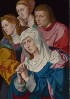 The Virgin, Saints and a Holy Woman