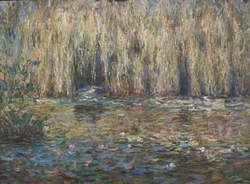 The Weeping Willows on the Lily Pond at Giverny
