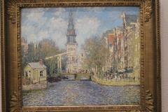 The Zuiderkerk, Amsterdam (Looking up the Groenburgwal)
