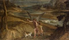 Tobias und der Erzengel Raphael auf Wanderschaft