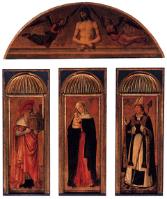 triptych of the Madonna