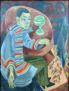 Self-portrait as a Drinker