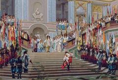 Réception du Grand Condé par Louis XIV (Versailles, 1674)