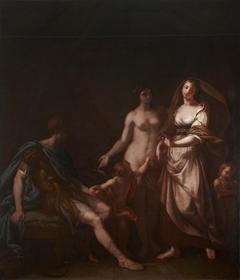 Venus ushering Helen to Paris