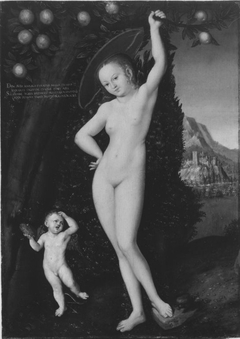 Venus with Cupid the Honey Thief
