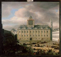 View of the Hofburg in Vienna