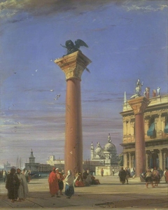 View of the Piazzetta near the Square of St Mark, Venice