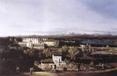View of the Villa Cagnola at Gazzada near Varese