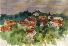 Vilnius, view of Uzupis