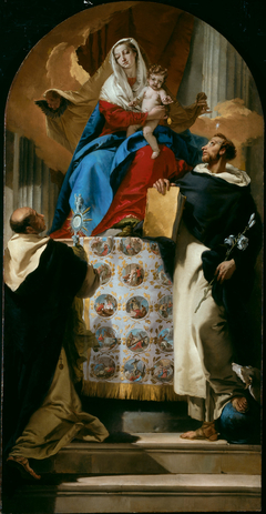 Virgin and Child with Saints Dominic and Hyacinth