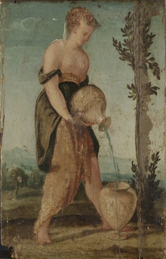 Woman with Water Jug