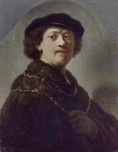 Zelfportret van Rembrandt (Wallace Collection)