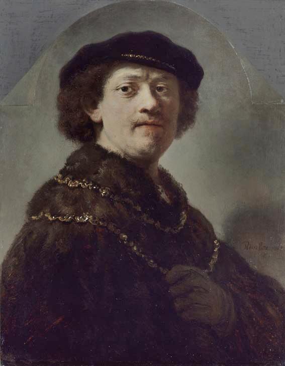 Zelfportret van Rembrandt (Wallace Collection)
