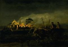 A Farm on Fire