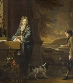 A Gentleman receiving a Letter