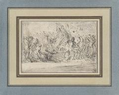Allegorie op de terugkeer in Parijs van Lodewijk XVI na zijn kroning te Reims