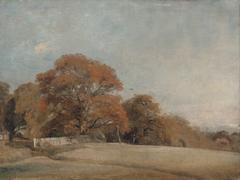 An Autumnal Landscape at East Bergholt
