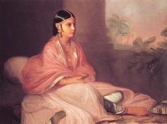 An Indian Lady, perhaps 'Jemdanee', Bibi of William Hickey
