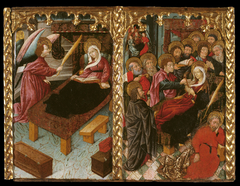 Annunciation of the Death; Dormition of the Virgin