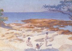 Beach at Cabasson (Baigne-Cul)