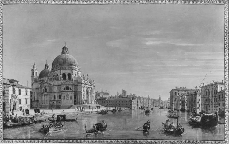 Blick auf S. Maria della Salute und den Canal Grande
