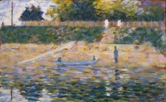 Boat by the Bank, Asnières