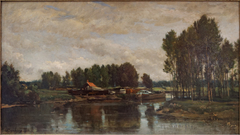 Boats on the Oise
