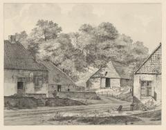 Boerderijen te Beek, boven Nijmegen