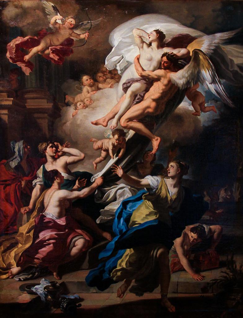 Boreas Abducting Oreithyia, Daughter of Erechteus