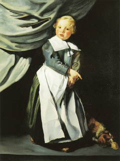 Boy with a Top and Dog