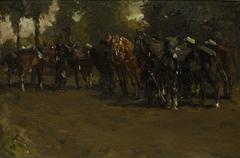 Cavalry at Repose