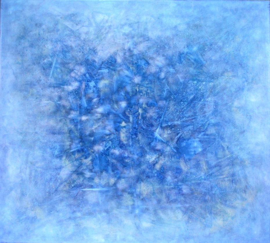Change in blue
