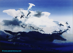 CHANT DE LA FORGE- The Smith's song - Anvil cumulus and hammerheads- by Pascal