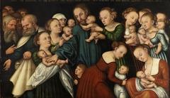 Christ blessing the Childen