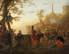 Christ Riding into Jerusalem