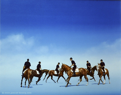 CYCLE EQUESTRE - Equestrian Cycle - by Pascal