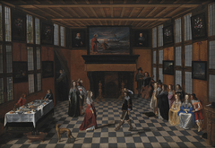 Dancing Party in an Interior