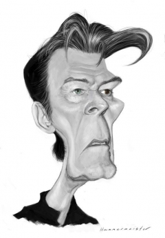 David Bowie sketch