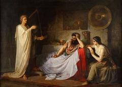 David Playing the Harp to Saul