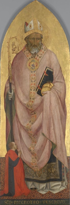 Der hl. Nikolaus von Bari mit Stifter