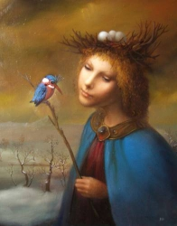 Диалог с птицей / Dialogue with a bird