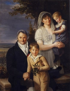 Dr Philippe Pinel (1745-1826) and his family