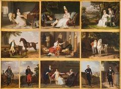 Eleven Sample Portraits