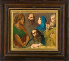 """Étude pour """"Jésus au milieu des docteurs"""""""