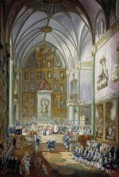 Ferdinand VII swears the Oath as Prince of Asturias