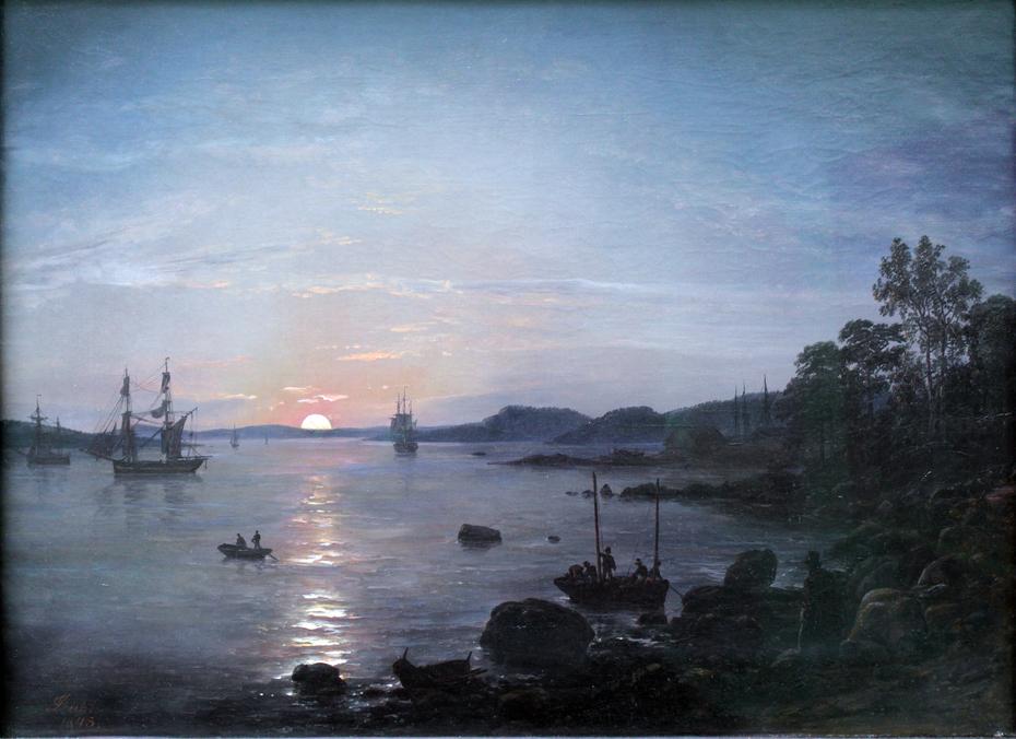 Fjord at Holmestrand